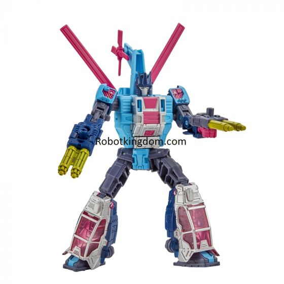 Transformers Generations Selects Deluxe WFC-GS19 Rotorstorm. Available Now.