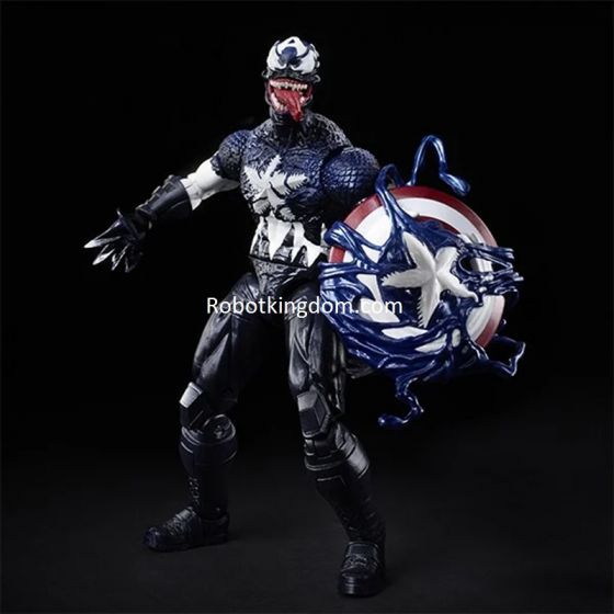 "Exclusives Marvel Legends 6"" Venomized Captain America. Preorder. Start Shipping 1st Oct 2020."