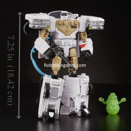 Transformers Collaborative: Ghostbusters Mash-Up - Ghostbusters Echo-1 Ectotron (Rerun). Preorder. Available in End of Dec 2020.