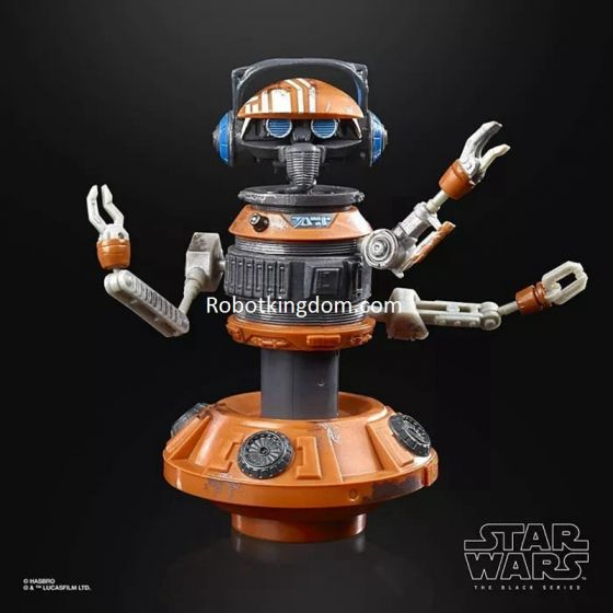 "Exclusives Star Wars Black Series 6"" Galaxy's Edge DJ R-3X. Preorder. Start Shipping 1st Oct 2020."