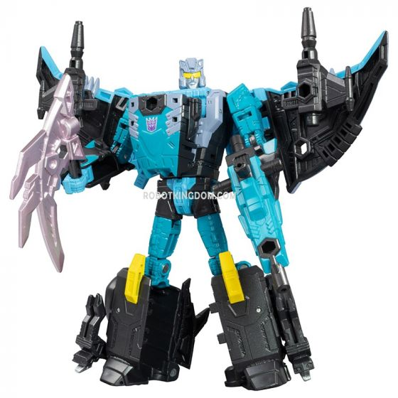 Takaratomy Mall Exlusives Transformers Generations Selects King Poseidon (Piranacon): Kraken (Seawing). Last Restock. Limited Qty! Available Now!