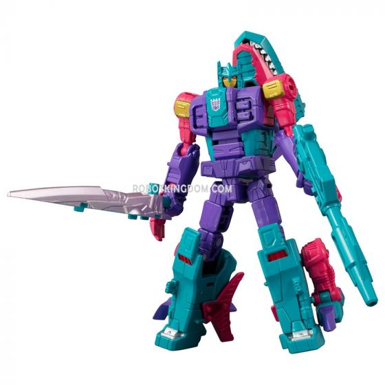 Takaratomy Mall Exclusives Transformers Generations Select King Poseidon (Piranacon): Overbite. Preorder. Available in End of March 2020.