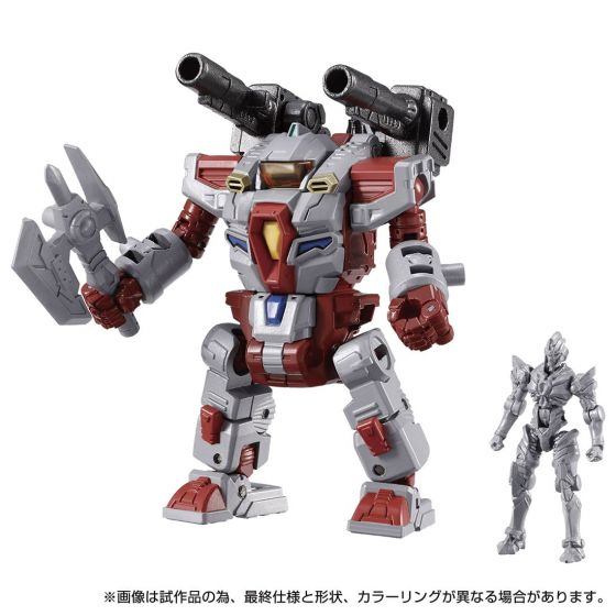 TAKARATOMY DIACLONE GRIDMAN UNIVERSE #03 GRIDSUITS. Preorder. Available in End of July 2021.