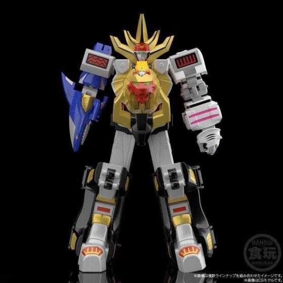 BANDAI SPIRITS Hyakuju Sentai Gaoranger SMP GaoKing Model Kit Set. Available Now!