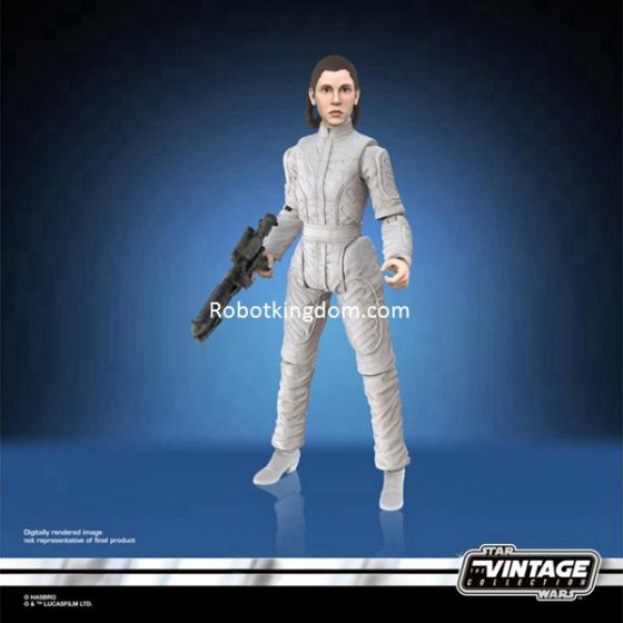 "Star Wars 3.75"" Vintage Collection Assortment Wave 6 Case of 8 (Princess Leia-Bespin Escape and Unknown Character X 7 pcs). Preorder. Available in May 2021."