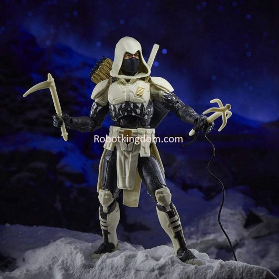 "Exclusives Hasbro G.I. Joe Classified Series Arctic Mission 6"" Storm Shadow. Available Now."