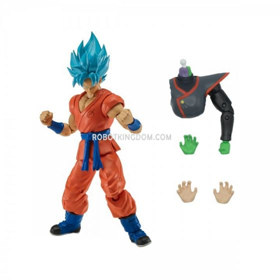 "Dragon Ball Super 6"" Super Saiyan Blue Goku. Available Now!"