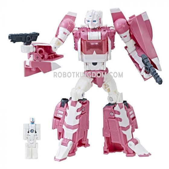 Hascon Exclusive TRANSFORMERS TITANS RETURN ARCEE 3-FIGURE PACK. Last Restock! Limited to 1 per person!
