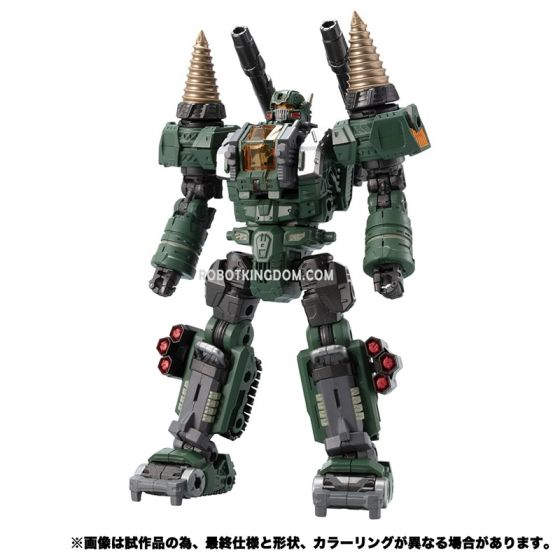 """Takaratomy Mall Exclusive DIACLONE DA-51 TRYVERSE TRYDIGGER """"Cosmo Version"""". Available Now."""