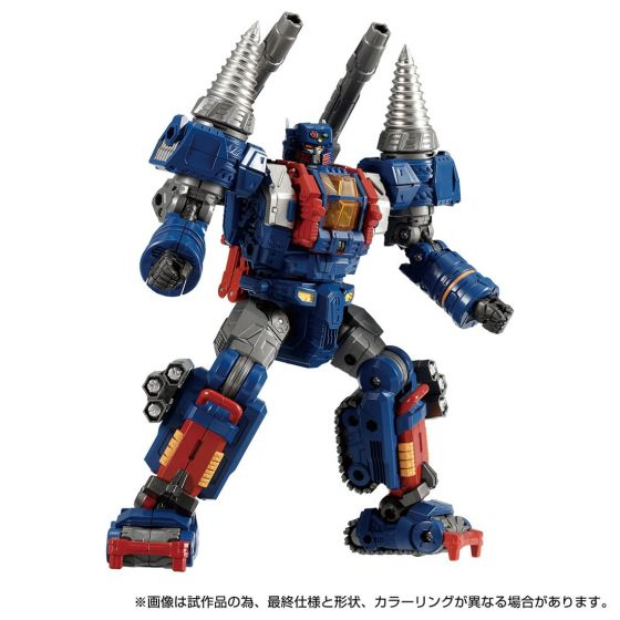 TAKARATOMY DIACLONE DA-72 DIACLONE TRIVERSE TRYDIGGER (D Caliber). Preorder. Available in End of May 2021.