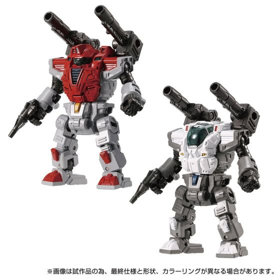 Takaratomy Mall DIACLONE DA-77 POWERED SUITS PS/202X <A&B> Set. Preorder. Available in End of September 2021.