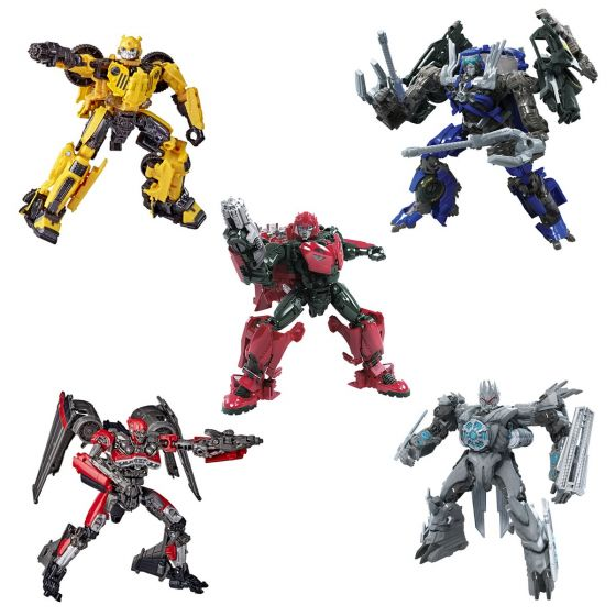 Hasbro Transformers Studio Series DELUXE 2020 Wave 3 Case of 8 (SHATTER JET, TF2 SOUNDWAVE, JEEP BB, TOP SPIN, CLIFFJUMPER). Preorder. Start Shipping on 1st October 2020.