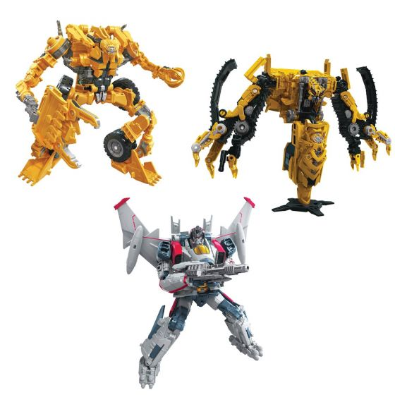 TRANSFORMERS Generations STUDIO SERIES VOYAGER 2020 Wave 3 Set of 3 (TF2 Skipjack, TF6 Blitzwing, Scrapper). Preorder. Start Shipping on 1st October 2020.