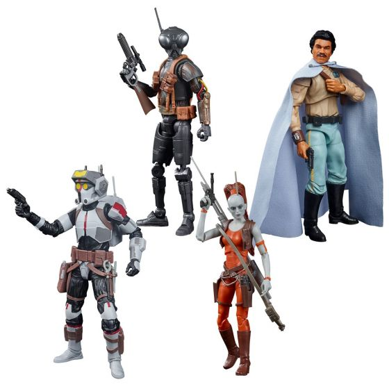 "Star Wars The Black Series 6"" Action Figures Wave 5 Case of 8 (BO KATAN KRYZE, BAD BATCH TECH, AURRA SING, LANDO CALRISSIAN, ZERO DROID, KOSKA REEVES). Preorder. Start Shipping on 1st October 2021."