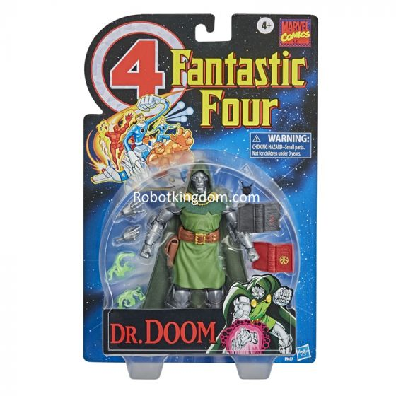 Marvel Legends Retro Collection Dr. Doom. Start Shipping Now!