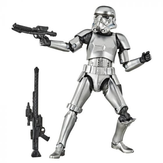 """Exclusive Star Wars Black Series 6"""" StormTrooper Carbonized. Preorder. Available in early June 2020."""