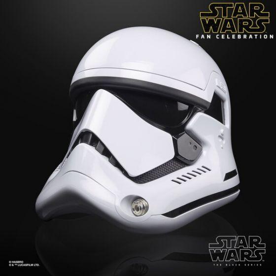 Star Wars Black Series First Order Stormtrooper Helmet.