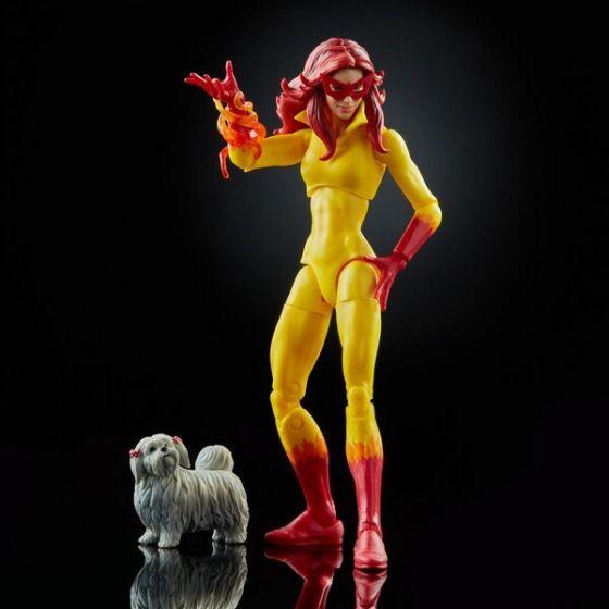 """Marvel Legends 6"""" Marvel Legends Firestar with Ms. Lion figure. Preorder. Start Shipping on 1st April 2021."""