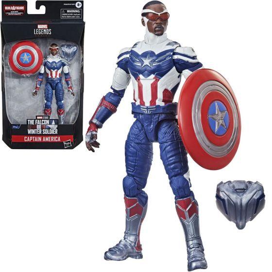 """Marvel Legends 6"""" Avengers 2021 Captain America (Sam Wilson). Preorder. Start Shipping on 1st August 2021."""