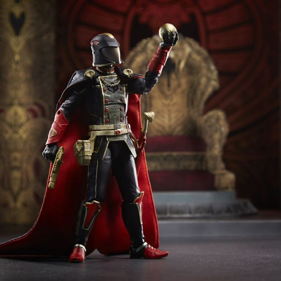 G.I. Joe Classified Series Snake Supreme Cobra Commander Action Figure. Start shipping NOW!