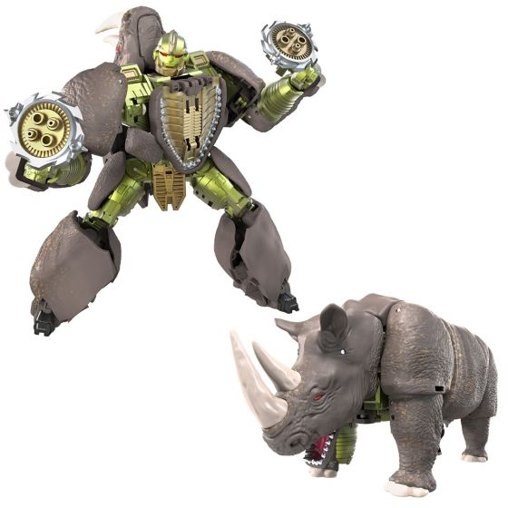 Transformers War for Cybertron Kingdom Voyager Rhinox. Preorder. Start Shipping on 1st September 2021.
