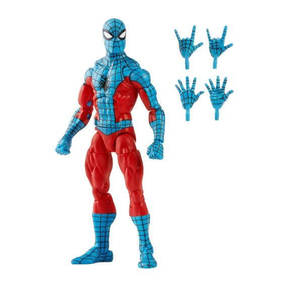 """Exclusive Marvel Legends Spiderman 6"""" Web-Man. Preorder. Start Shipping on 1st October 2021."""
