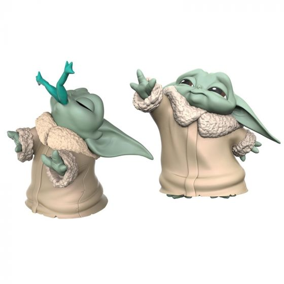 Star Wars The Mandalorian Baby Bounties Frog and Force Mini-Figures. Available Now.