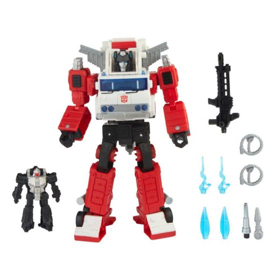 Transformers Generations Selects Voyager Artfire and Nightstick. Preorder. Start Shipping on 1st November 2021.
