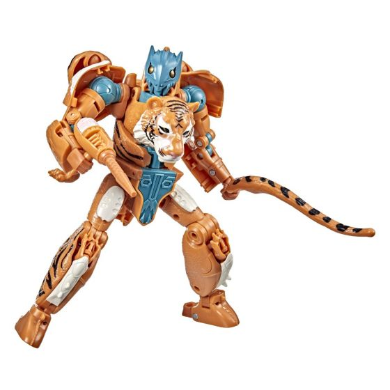 Transformers Generations War for Cybertron Golden Disk Collection Chapter 3, Mutant Tigatron. Preorder. Available in March 2022.