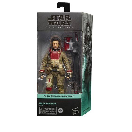 """Star Wars The Black Series 6"""" Baze Malbus (Rogue One). Preorder. Start Shipping on 1st November 2021."""