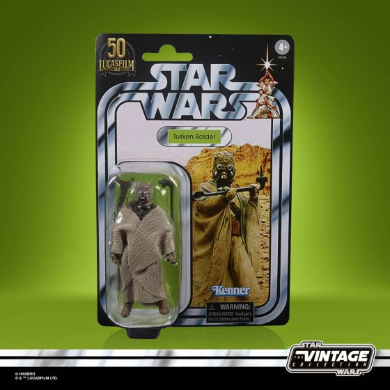 """Exclusive STAR WARS THE VINTAGE COLLECTION Lucasfilm 50th Anniversary 3.75"""" TUSKEN RAIDER Figure. Preorder. Start shipping on 1st September 2021."""