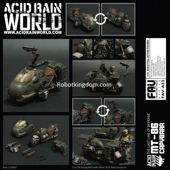 Acid Rain FAV-A33 MT-86 Capybara. Preorder. Available in END OF MAR 2021.