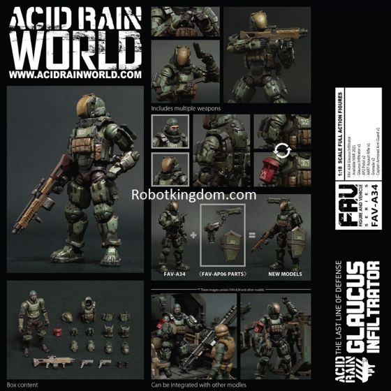 Acid Rain FAV-A34 Glaucus Infiltrator. Preorder. Available in END OF MAR 2021.