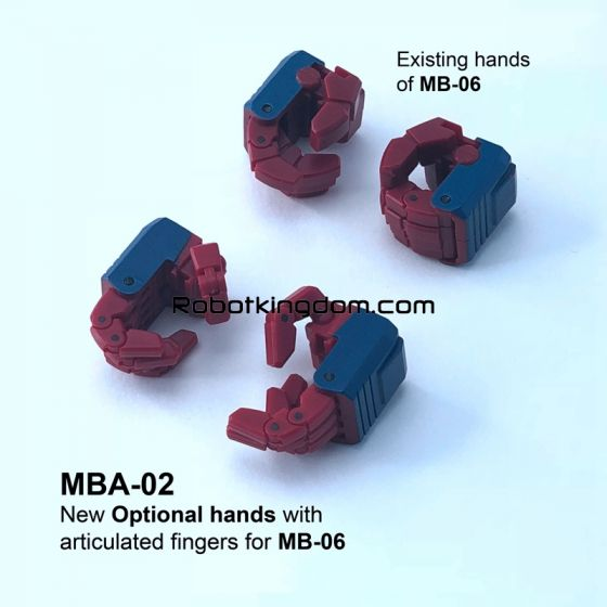 FANS HOBBY MBA-02 Articulated hands for MB-06. Available Now!
