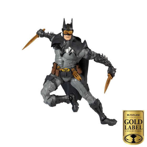 """DC Todd McFarlane 7"""" Figure Batman - Gold Label Series. Preorder. Available in January 2021."""