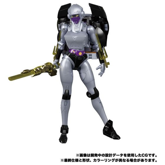 TAKARA TOMY TRANSFORMERS MASTERPIECE MP-55 Nightbird shadow. Preorder. Available in End of February 2022.