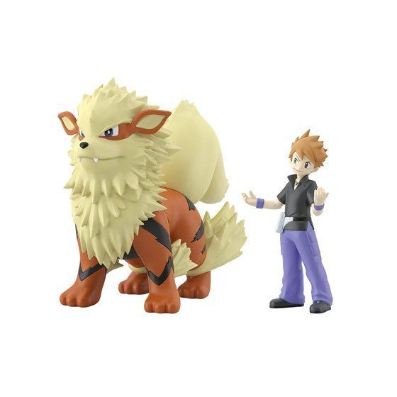 POKEMON SCALE WORLD KANTO GREEN & ARCANINE W/O GUM. Preorder. Available in May 2021.