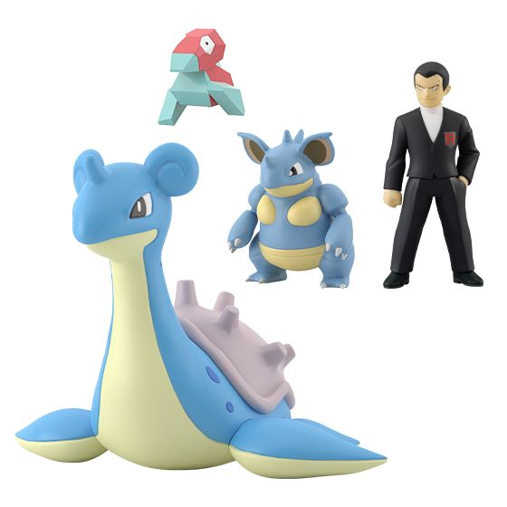 POKEMON SCALE WORLD KANTO SYLPH COMPANY SET W/O GUM. Preorder. Available in June 2021.