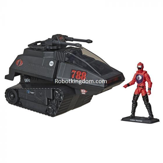 "Exclusives G.I.JOE 3.75"" RETRO Cobra Hiss Tank. Preorder. Start Shipping 1st Nov 2020."