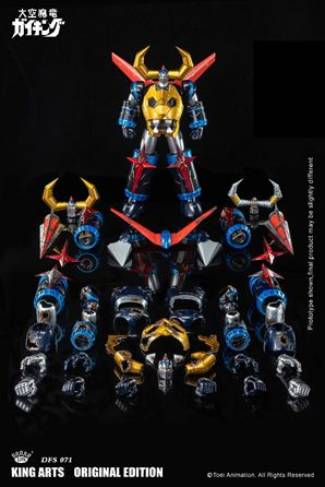 King Arts - DFS071 - Diecast Action Daiku Maryu Gaiking. Available Now.