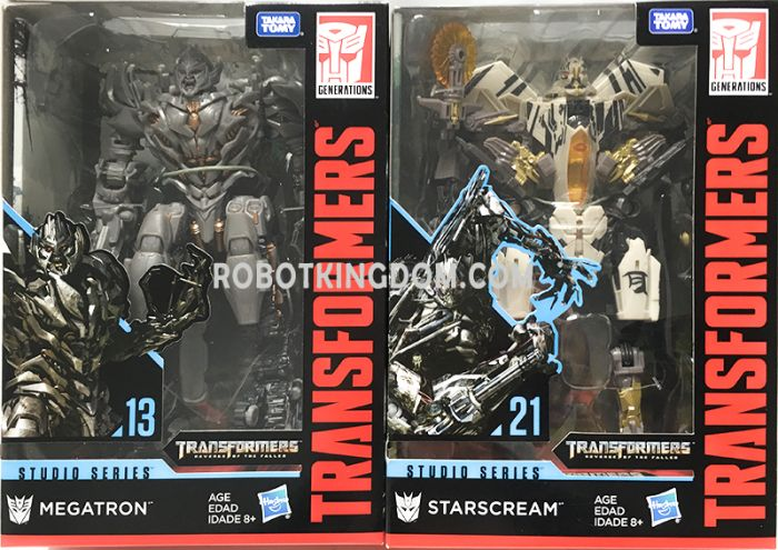 Hasbro Transformers Studio Series VOYAGER Wave 4 set of 2. (Megatron, Starscream). Available Now!