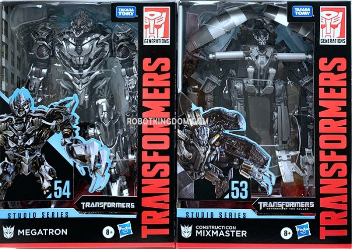 Hasbro Transformers Studio Series VOYAGER Wave 8 set of 3 (TF1 MEGATRON, MIXMASTER). Available Now!