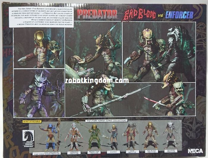 "NECAPredator - 7"" Scale Action Figure - Ultimate Bad Blood and Ultimate Enforcer 2 pack. Available Now!"