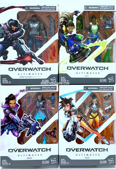 Overwatch Ultimates Core Figure Assortment wave 1 set of 4. Available Now!