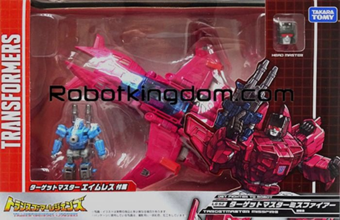 Takara Transformers Legends LG-52 - Targetmaster Misfire. Available Now!