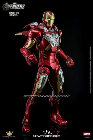 King Arts - Avenegers Age of Ultron: 1/9 Scale Iron Man Mark 07 Armor Figure. Available Now!