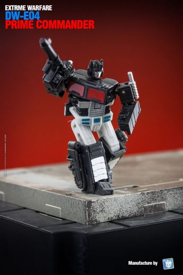 Dr. Wu DW-E04B Prime Commander Black. Limited to 500pcs worldwide. Preorder. Available in End of July 2021.