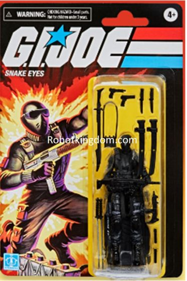 G.I. Joe RETRO FIGURES set of 6 (EARTH,  SATURN, CRATER and ROCKET). Preorder. Availavble in May 2021.
