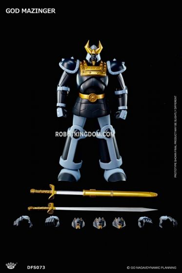 King Arts - DFS073 - Dynamic Planning - Diecast Action God Mazinger. Available Now!
