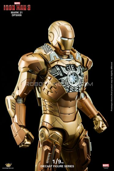 King Arts - 1/9 Diecast Figure Series - DFS006- Iron Man Mark 21. Last Pcs!